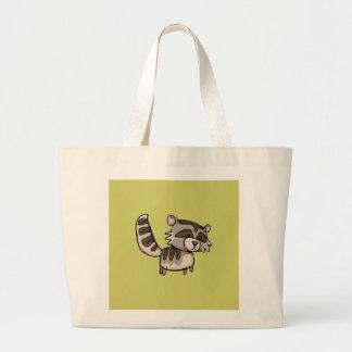 Racoon Jumbo Tote Bag