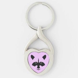 Racoon Key Ring