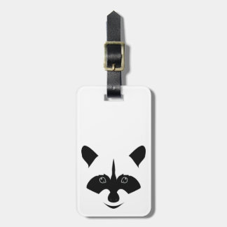 Racoon Luggage Tag