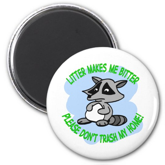racoon magnet