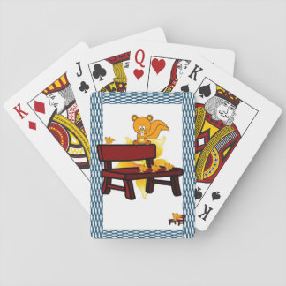 Racoon Playing Card Deck