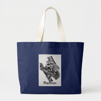Racoon Products Large Tote Bag