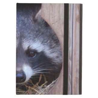 Racoon raccoon cover for iPad air