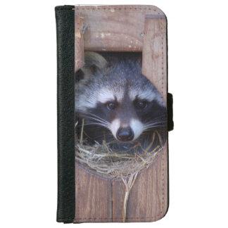 Racoon ~ raccoon - of GLINEUR iPhone 6 Wallet Case