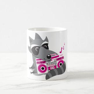 racoon rock coffee mugs