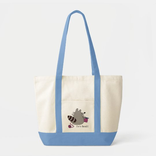 Racoon Yarn Bandit Knitting Bag