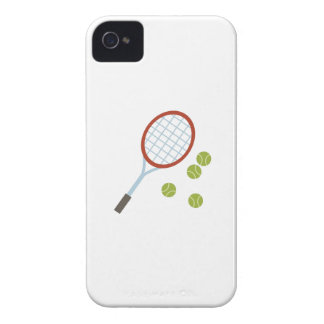 Racquet & Balls iPhone 4 Case-Mate Cases
