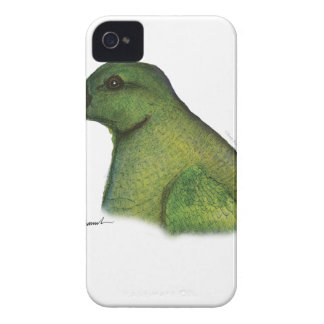 racquet tailed parrot, tony fernandes iPhone 4 case