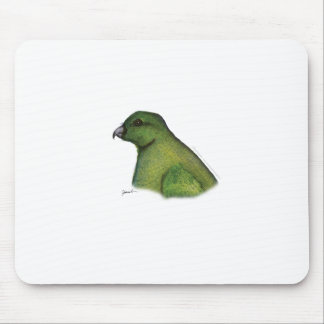 racquet tailed parrot, tony fernandes mouse mat