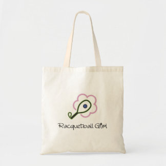 Racquetball Girl Tote Bag