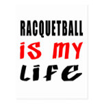 Racquetball is my life postcards