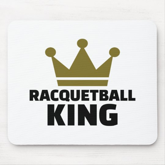 Racquetball king mouse pad