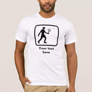 Racquetball Logo -- Customizable T-Shirt