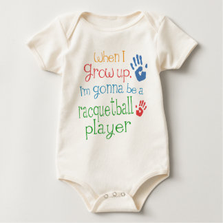 Racquetball Player (Future) Infant Baby T-Shirt