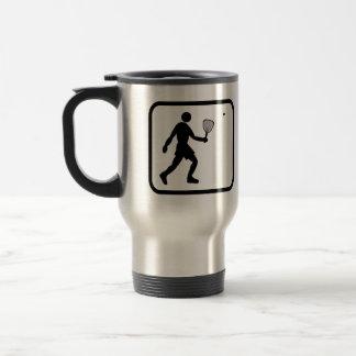 Racquetball Player Pro Travel Mug