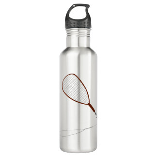 Racquetball Racket Graphic 710 Ml Water Bottle