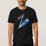Racquetball 'Z' Shot dark Shirts