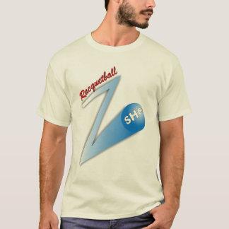 Racquetball 'Z' Shot light T-Shirt