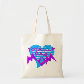 Rad 80s Mom Budget Tote Bag