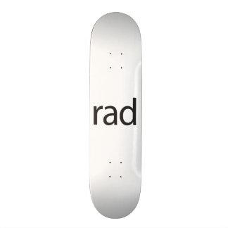 rad.ai skate board deck