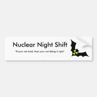 Rad Bat Bumper Sticker