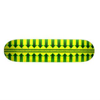 Rad Green Arrow Skateboard