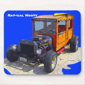 Rad-ical Woody Mouse Pad
