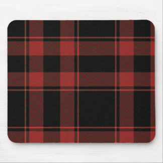 Rad Plaid Black n Red Mousepad
