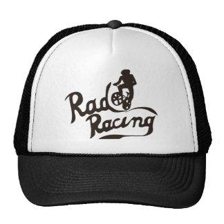 rad racing mesh hat