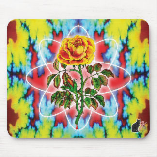 Rad Rad Rose Mouse Pad