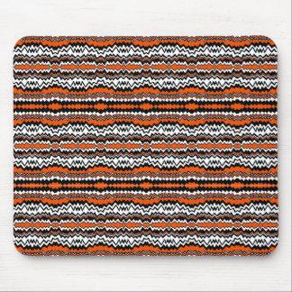 RAD ZAG DESIGN Orange & Black Mouse Pad