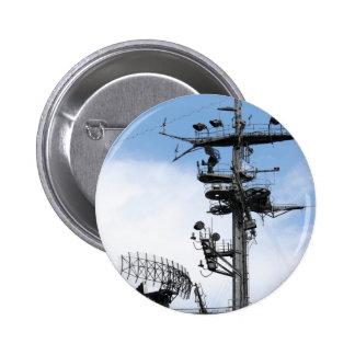 Radar 6 Cm Round Badge