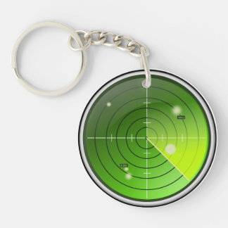 Radar Key Ring