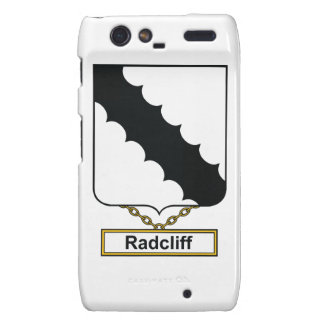 Radcliff Family Crest Droid RAZR Case