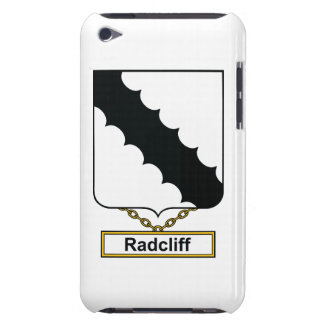 Radcliff Family Crest iPod Touch Case