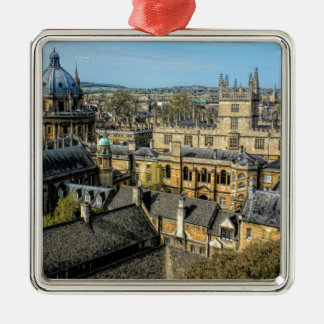 Radcliffe Camera and Bodleian Library Oxford Christmas Ornament