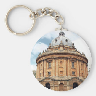 Radcliffe, Camera, Bodleian library, Oxford Basic Round Button Key Ring