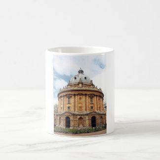 Radcliffe, Camera, Bodleian library, Oxford Basic White Mug