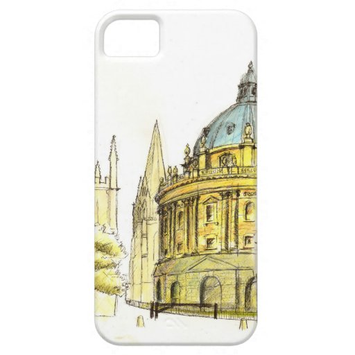Radcliffe Camera original drawing Cover For iPhone 5/5S