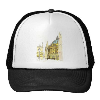 Radcliffe Camera original drawing Mesh Hat