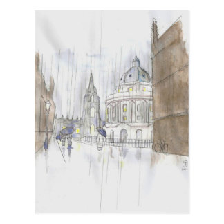 Radcliffe Square Postcard