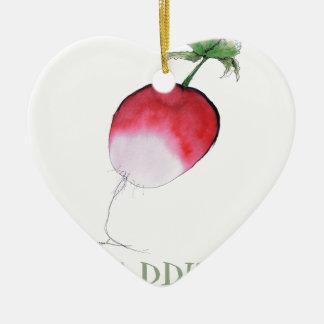 raddish, tony fernandes ceramic heart decoration