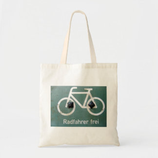 Radfahrer Tote Bag