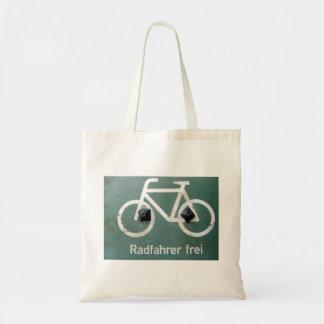 Radfahrer Budget Tote Bag