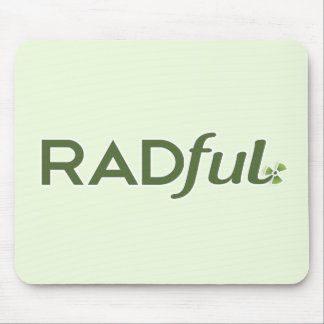 Radful Logo Mouse Pad