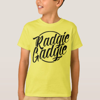 Radgie Gadgie Newcastle Geordie Dialect Tee