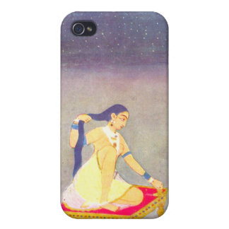 Radha at Night Cover For iPhone 4
