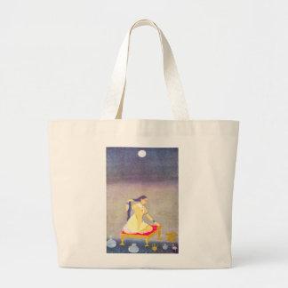Radha at Night Jumbo Tote Bag