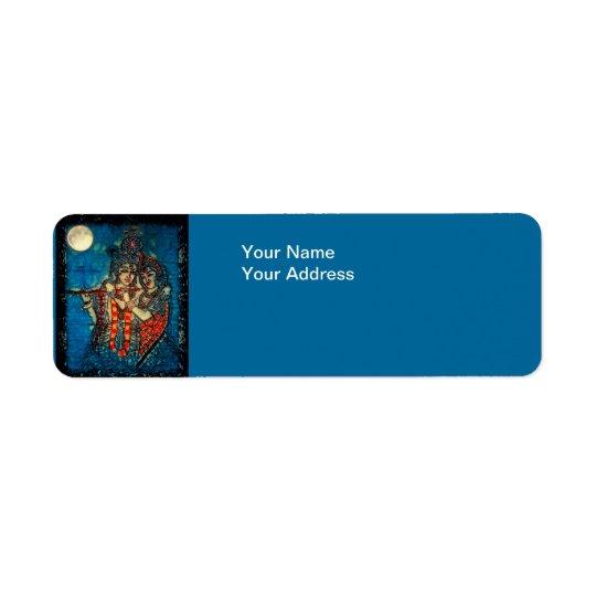 Radha Krishna2 Return Address Label