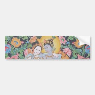 Radha-Krishna Bumper Sticker